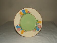More details for clarice cliff art deco spring crocus plate truly stunning