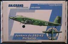 Anigrand Models 1/144 JUNKERS Ju-352V-2 HERKULES German WWII Transport