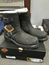 New Harley Men's Oakcrest Boots. Size 10.5 D96079