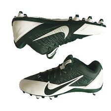 Nike Alpha Pro TD Low Football Cleats Size 16 Shoes Green White 599008-131