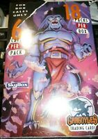 Sealed- 1996 -Gargoyles- Skybox Cartoon Non-Sports Trading Cards NOS 1 Box