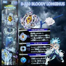 ORIGINAL TOMY BEYBLADE BURST STARTER SET W/ LAUNCHER B-110 BLOODY LONGINUS.13.JI