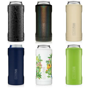 BruMate Hopsulator SLIM 12oz Seltzer Can Cooler Coozie Koozie 20+ Color Options