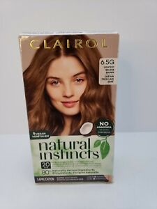 Clairol - Natural Instincts Semi-Permanent Hair Color - 6.5G Lightest Gold Brown