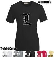 Anime Death Note Symbol Design Cotton Long Sleeves Women's Girl's T-Shirt Tops