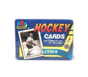 Bowman 1990 Premier Edition Hockey Cards Set - Sealed Package - Topps