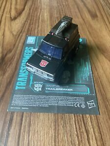 Transformers Earthrise WFC Trailbreaker Chrome Loose Complete