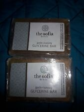 The Sofia Hotel Gentle Cleansin Bar Lot Of 10pc