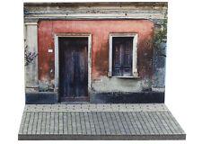 Diorama Façade rue Italie / Italian building - 1/43ème - #43-2-A-A-096