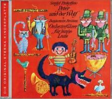PETER UND DER WOLF Sergej Prokofiew * CD * DDR Litera Rolf Ludwig 1972 * NEU *