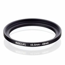 RISE(UK) 43.5mm-49mm 43.5-49 mm 43.5 to 49 Step Up Ring Filter Adapter black