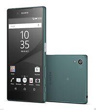 "Sony Xperia Z5 E6633 SILVER GREEN DUALSIM 23MP 3GB 32GB Factory Unlocked 5.2"""