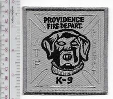 K-9 Rhode Island Providence Fire Department PFD Canine ATF Accelerant Sparky Sni