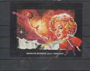 Tansania Block Marilyn Monroe mnh