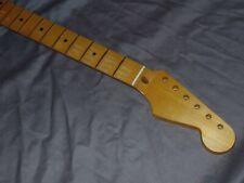 DARK 9.5 RELIC Fender Lic, Allparts Maple Neck willfit stratocaster usa mim body