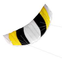 "140x55cm / 55"" x 21"" Frameless Soft Dual Line Stunt Parafoil Kite Huge Y2J4"