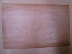roasted basswood Thermo Linde EINTEILER blank 60,5x38x4,5cm Gitarre Tonholz