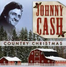 COUNTRY CHRISTMAS / JOHNNY CASH - Brand New & Sealed- Fast Ship -CD