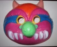 My Pet Monster Halloween Adult Costume Mask Colorful Fun Ben Cooper 1986 NOS