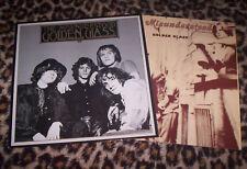 """MISUNDERSTOOD ~ GOLDEN GLASS. Orig 1984 LP & 12"""". 60's psych. M/EX."""