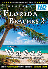 RELAX NOW - HD FLORIDA BEACHES 2 DVD Waves relaxing Nature video w/ ocean sounds
