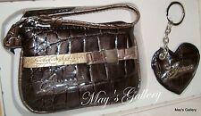 Guess Wristlet Hand bag Wallet Coin bag Purse Key Chain Handbag Evening Gift set