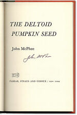 The Deltoid Pumpkin Seed - Signed by John McPhee - First Edition