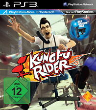 EOL-Kung Fu Rider (PlayStation Move) (Sony ® ps3) nuevo & OVP