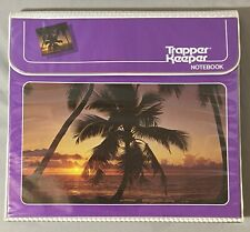 Vintage Trapper Keeper Notebook Miami Palm Trees W/8 Original Portfolios + More