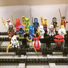 Lego Ninjago Figuren Set Fangtom Kay Jay Sensei Wu Cole Zane Klingenmeister