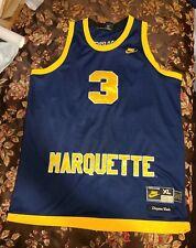 Marquette Golden Eagles Basketball Jersey Dwayne Wade XL