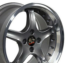 17x9/17x8 Wheels Fit Ford Mustang Cobra R Anthracite Rims W1X SET