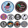 DIY Embroidery Patches Sew On Iron On Badge Applique Bag Craft Sticker Trans ¾W