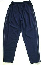Mens Nike Sweatpants Large XL Blue Ankle Zips Lightweight MM11