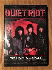 Quiet Riot - '89 Live In Japan DVD (Paul Shortino on vocals) Rough Cutt