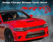 Dodge Charger Srt Hellcat Bumper Cover Vinyl Decal Sticker Graphic Hemi Hell Cat