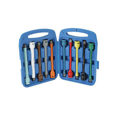 "10pc 1/2"" Drive Impact Wheel Lug Torque Limiting Extension Bar Sticks Set Kit"