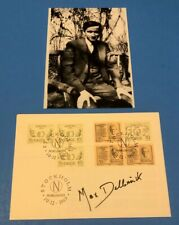 Max Delbruck (Nobel Prize Medicine 1969) Signed Swedish Nobel First Day Cover