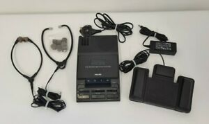 Philips LFH 710 Transcriber Transcription Machine Dictation System with Pedals