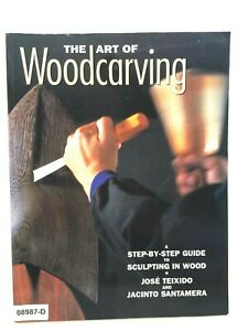 THE ART OF WOODCARVING Wood Sculptung  How To Instruction SC BOOK