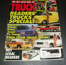 SPORT TRUCK MAGAZINE November 1992 - 132 pages - Best Trucks coast to coast