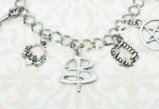 Vampire Charm Bracelet, inspired by Buffy the Vampire Slayer