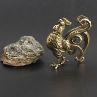 Chinese Collection Asian Antiques Zodiac Chicken Exquisite Key buckle Pendant