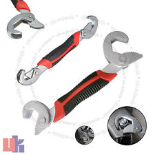 2pc Self Adjusting Wrench Set 9-32mm Universal Pipe Spanner Grip Wrenches UKED
