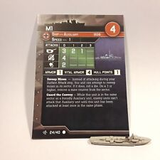 "Axis and Allies ""Surface Action"" M1 (24/40) Plane Game Piece & Card"