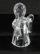 "Mikasa Crystal Glass Little Angel 4"" Candle Holder"