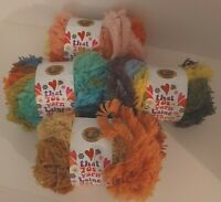 NEW Mixed Lot That '70s Yarn FUNKY 3.5oz 38yd Variegated Super Bulky 4-Skeins