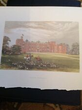 K2-1 1880s Book Plate Picture 6x4 Inches Burton Constable View