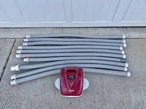 Nice Hayward NaviGator Suction Inground Vinyl Pool Vacuum Cleaner w/ 10 Hoses!