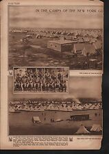 7th & 12th NEW YORK NATIONAL GUARD, Camps -1916 in McAllen & Mission, Texas